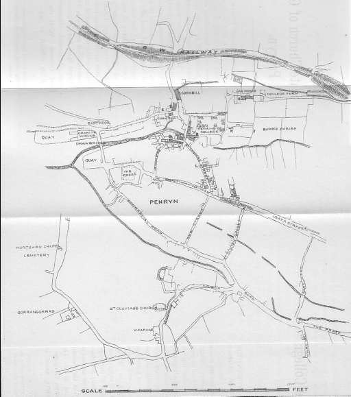 Map Penryn 1800's