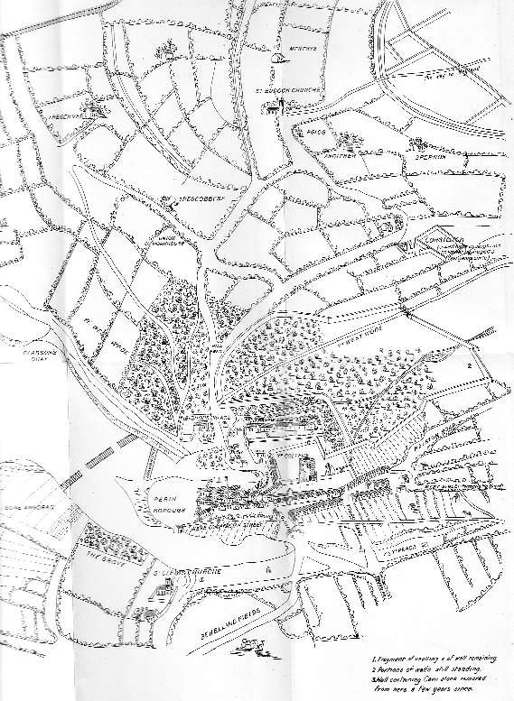 Map Penryn 1580