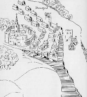 Map Penryn c1540
